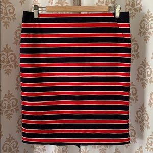 The Limited Red, White & Blue pencil skirt 10